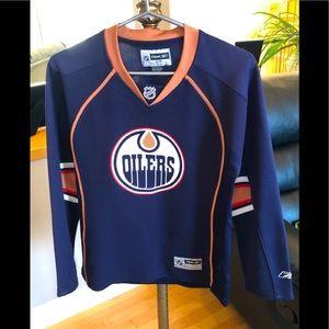 Reebok NHL Women's Oilers Nugent-Hopkins Jersey, S